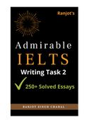 Admirable IELTS Writing Task 2