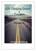 Life Changing Quotes & Thoughts (Volume 38)