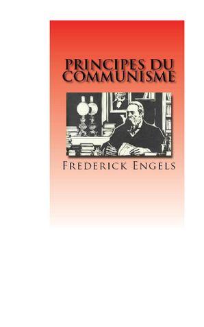 Principes du Communisme