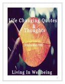Life Changing Quotes & Thoughts (Volume 106)