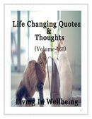 Life Changing Quotes & Thoughts (Volume 168)