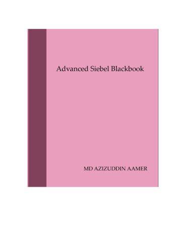 Siebel Advanced Blackbook