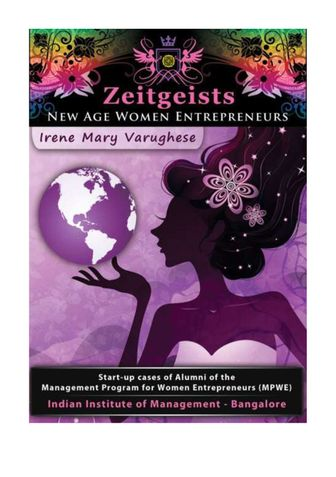 ZEITGEISTS NEW AGE WOMEN ENTREPRENEURS