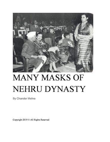 Many Masks of Nehru Dynasty