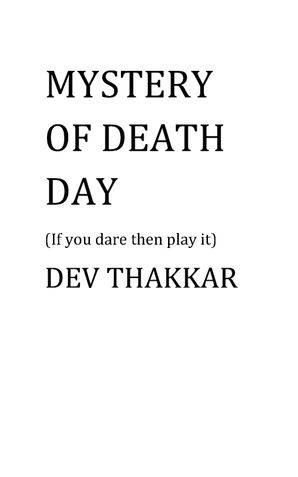Mystery of Death day
