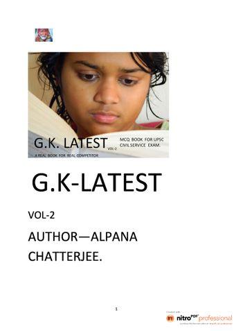 G.K. LATEST