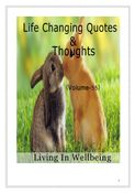 Life Changing Quotes & Thoughts (Volume 55)