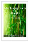 Life Changing Quotes & Thoughts (Volume 3)