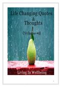 Life Changing Quotes & Thoughts (Volume 46)