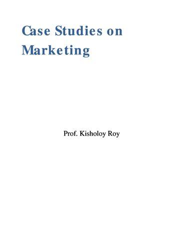Case Studies on Marketing