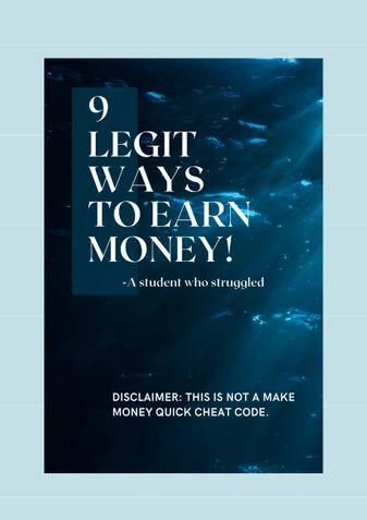 9 Legit ways to Earn Money!