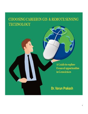 Why Choose Career in GIS and Remote Sensing