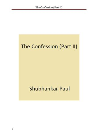 The Confession (Part II)