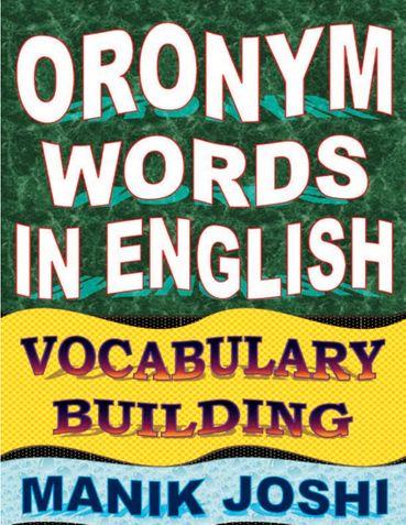 Oronym Words in English