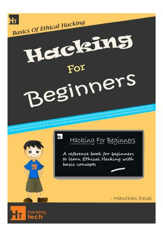 Hacking For Beginners - a beginners guide for learning hacking (Original)