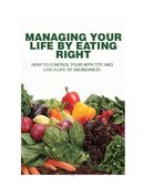 Managing Your Life by Eating Right food by aryan soni