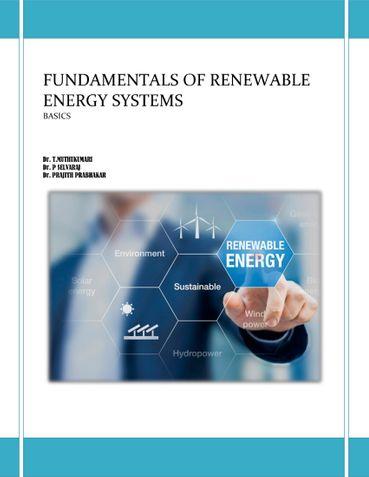 FUNDAMENTALS OF RENEWABLE ENERGY SYSTEMS Basics