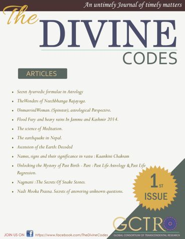THE DIVINE CODES- ISSUE 1