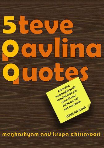 500 Steve Pavlina Quotes