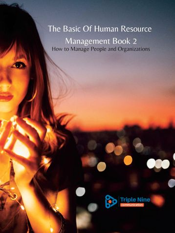 The Basic Of Human Resource Management Book 2