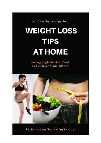 Weight Loss Tips at Home