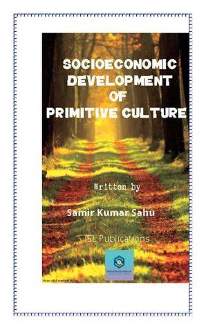 SOCIOECONOMIC DEVELOPMENT OF PRIMITIVE CULTURE