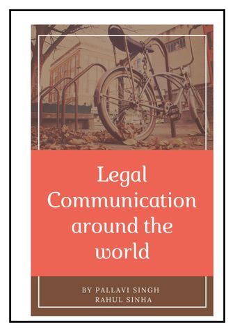 Legal Communication in and around the world