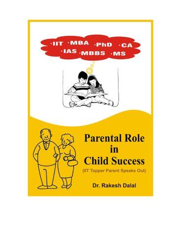 Parental Role In Child Success