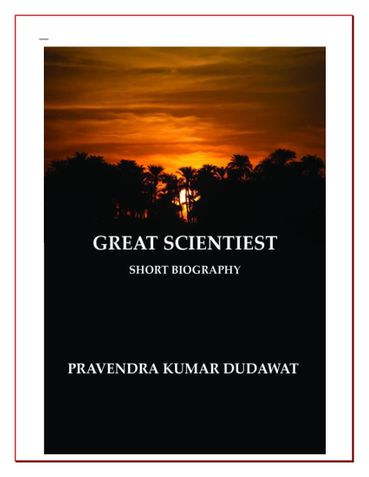 GREAT SCIENTIEST
