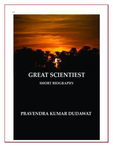 GREAT SCIENTIEST
