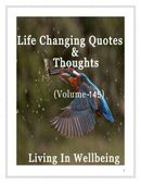 Life Changing Quotes & Thoughts (Volume 145)
