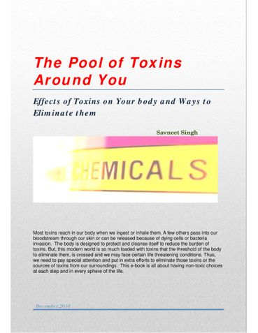 The Pool of Toxins Around You