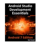 Android Studio 2.2 Development Essentials - Android 7 Edition