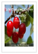 Life Changing Quotes & Thoughts (Volume 16)