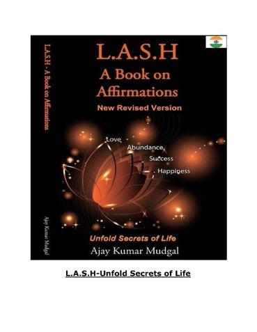 L.A.S.H-Love Abundance Success Happiness