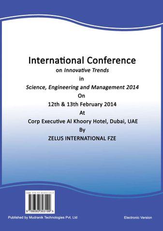 ICITSEM 2014 Proceedings