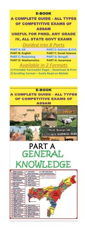 PART A: GENERAL KNOWLEDGE (SPECIAL EMPHASIS ON ASSAM)