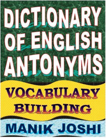 Dictionary of English Antonyms