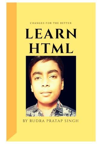 HTML Mastery Mini Course E-book By Shivanibhi Academy