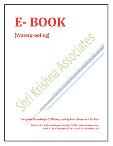 Be Your Own Waterproofing Master