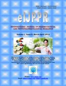 INTERNATIONAL JOURNAL OF PHARMACEUTICAL AND PHYTOPHARMACOLOGICAL RESEARCH [Volume-1, Issue-5, March-April 2012]
