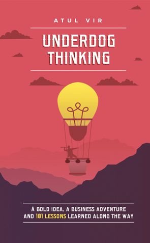 UNDERDOG THINKING: A Bold Idea, a Business Adventure and 101 Lessons Learned Along the Way