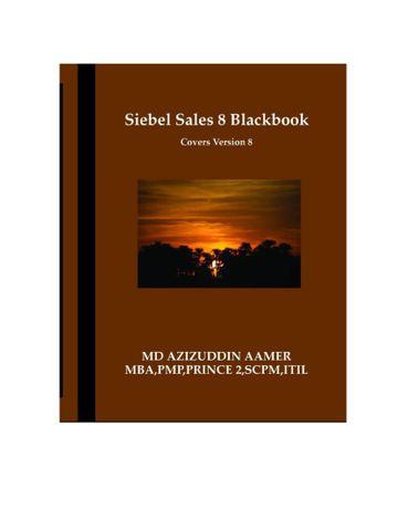 Siebel Sales 8 Blackbook