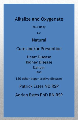 Alkalize and Oxygenate your body