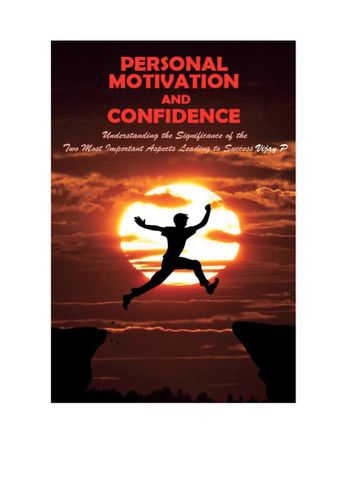 Personal Motivation and Confidence