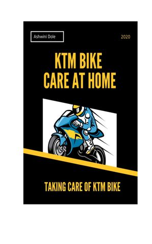 KTM Bike Care at Home