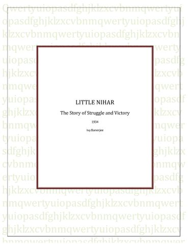 Little Nihar