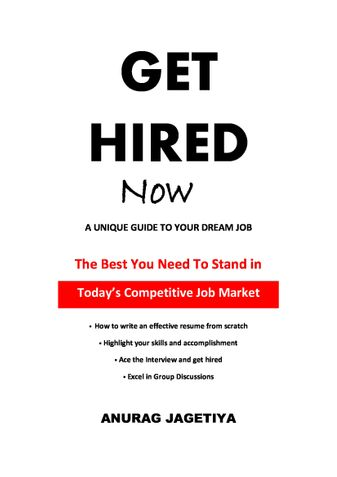Get Hired Now