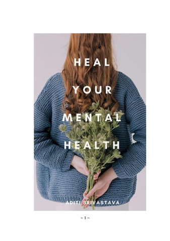 HEAL YOUR MENTAL HEALTH