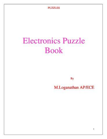 Basic Electronics Puzzle